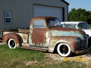 1951 Chevy Dropped Axles