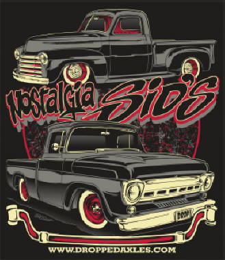 1957 Ford / 1949 Chevy T-Shirt - Nostalgia Sids