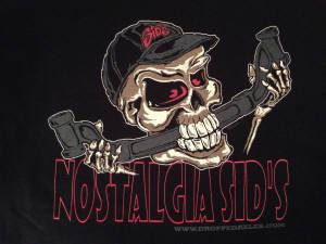 Skull T Shirt - Nostalgia Sids